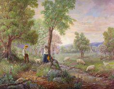 'First Love' Painting by Bettie Hebert-Felder