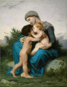 Fraternal Love - William-Adolphe Bouguereau