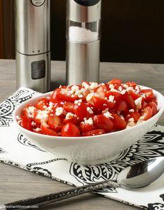Tomato, Feta and Vidalia Onion Salad