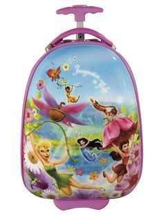 """Disney Fairies Imagination In Flight 18"""" Carry-On by Heys Luggage"""