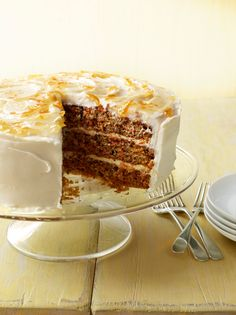 Three-Layer Carrot Cake Recipe : Food Network Kitchen : Food Network - FoodNetwork.com