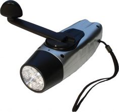 A wind-up torch gives you emergency light without having to worry about batteries going flat just when you need them