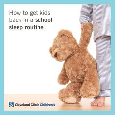 Tips to get your kids on a #backtoschool #sleep schedule.