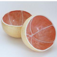 Grapefruit Bowl by vegetabowls on Etsy, $21.00