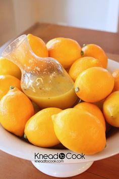 Homemade Lemon & Honey Vinaigrette