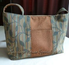Carriage House Specialties - Designer Purses, Handcrafted Concealed Carry Purses, Hand Bags : Other