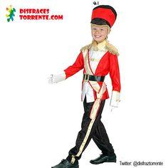 $14.95Euros Disfraz de Soldado de plomo. Elegante Disfraz de Soldadito para niños. En las fiestas de fin de curso triunfa mucho.