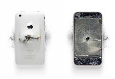 Apple: Destroyed.