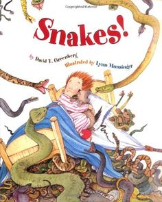 Snakes! by David T. Greenberg http://www.amazon.com/dp/0316320765/ref=cm_sw_r_pi_dp_fPI2tb07SXD0K55D Book I use in conjunction with Black Snake. Great Orff/Laban movement improv opportunities with appropriate background music.