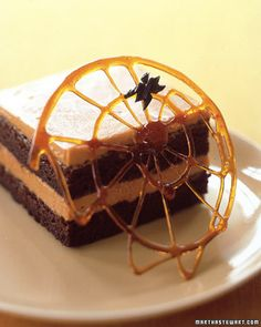 make a web for desserts