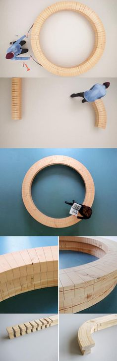 Wooden Blocks Design By Chris Kabel
