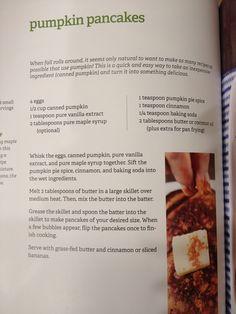 Pumpkin pancakes. Paleo recipe