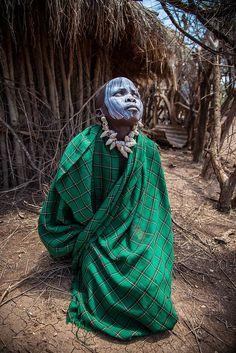 Mursi tribe child Africa