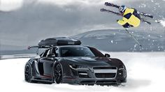 Jon Olsson Audi R8 GTR