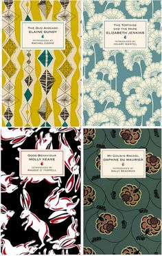textile covered books