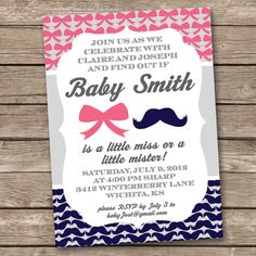great poster for the baby shower with unknown sex of the baby i made