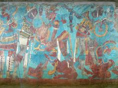 battle mural  Cacaxtla