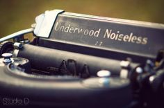 Vintage typewriter decor from Forget-Me-Not Vintage Rentals