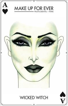 Make Up For Ever #Halloween Look - Wicked Witch