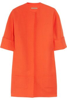 [victoria beckham] stretch wool coat