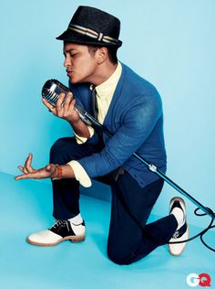 Bruno Mars. Why? Because he and his band remind me of the crooners of old. Like the Temptations and the Four Tops.