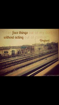 Love the book Unglued.