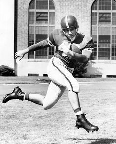 Ron Clark was a halfback for the 1954 Nebraska Cornhusker football team. He was from Ravenna, Nebraska. THE WORLD-HERALD
