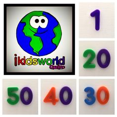 Explore this interactive image: Video Flashcards: Learning numbers 1-50 in English.  Fun & engaging video helping toddlers & preschool children learn to count.