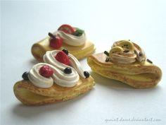 #Crepes #tropical #miniature #food #charm # jewelry