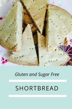 Gluten and Sugar Free shortbread - a great homemade christmas gift idea - with health and wellness blog Loulou Zoo