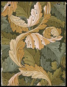 William Morris pattern - good study in shading