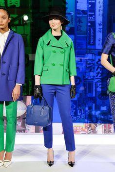 Kate Spade F/W 2014 color combo, fashion, cloth, spade nyfw, york fall, 2014 rtw, fall 2014, spade collect, kate spade