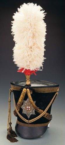 SUPERB MINT GEORGIAN SHAKO PLATE / BADGE  c.1822