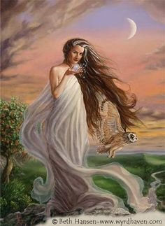 LILITH - Jewish folklore defines Lilith as the first wife of Adam, made of dust exactly as Adam was.  When she refused to be submissive to him, she was banished from the Garden of Eden, and Adam was given Eve, who was created from his rib to guarantee obedience to Adam's will.