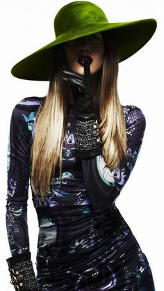 From pinterest.com   #hat #couturehat # womenhats #headwear #millinery