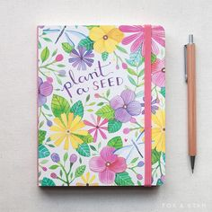 'In The Garden' Floral Pocket Planner #floral #organisation