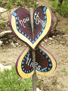 How thyme flies..#rusticsigns