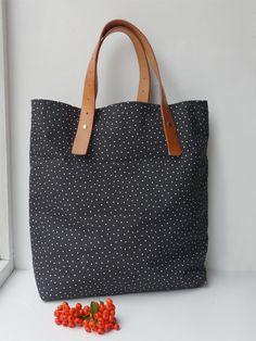 DIY: leather bag handle