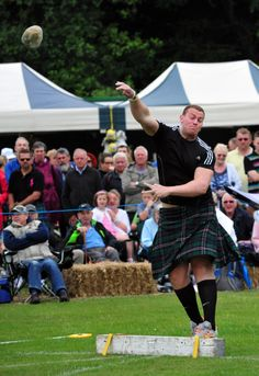INTERNATIONAL strongman and Olympic athlete Geoff Capes returned to Ashbourne with his posse of heavy weight contestants for the annual Highland Games.