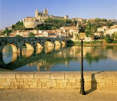 Languedoc, France along the River Orb