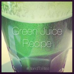 GREEN JUICE RECIPE Ingredients: A Handful Of Chard 3 Stalks Of Celery 1 Spring Of Cilantro 1-2 Medium Cucumbers  How To Make:      Step 1⃣ Run all the ingredients through a juicer and serve. Option 2⃣ If you don't have a juicer... Add all the ingredients to your blender... Blend/Strain/Serve!  #blendtobliss #rawfoods #superjuice #gogreen