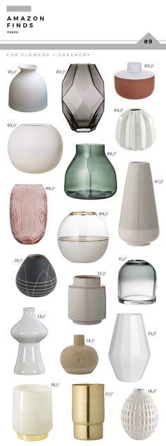 Amazon Finds : Vases