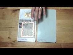 Spellbinders Creating a Shaped Card - YouTube Channel #tutorial #DIY