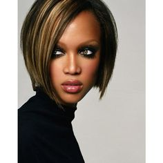 Tyra Banks - Fashion Models - Picture Gallery ❤ liked on Polyvore