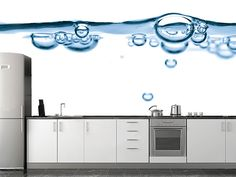 water, interior, decorate rooms, wall murals, art, bubbles, architecture, homes, kitchen designs
