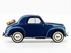 mickey mouse, vintage cars, fiat 500c, transport, blue