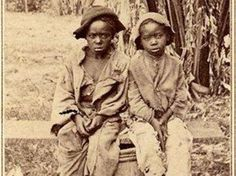 Rare photo of slave children found in North Carolina. The pictures missing from school history books.