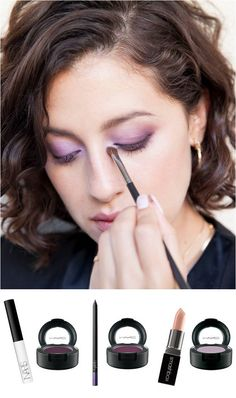 How To: Purple Smokey Eye