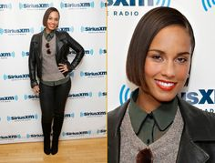 Alicia Keys attends the SiriusXM Town Hall Live On 'Heart And Soul' at SiriusXM Studios in New York City.