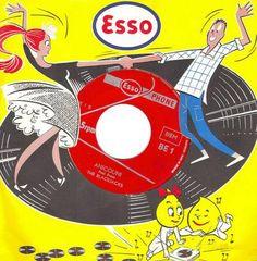 vintag, record sleev, lp sleev, favorit art, rememb, music sooth, illustr, record album, esso